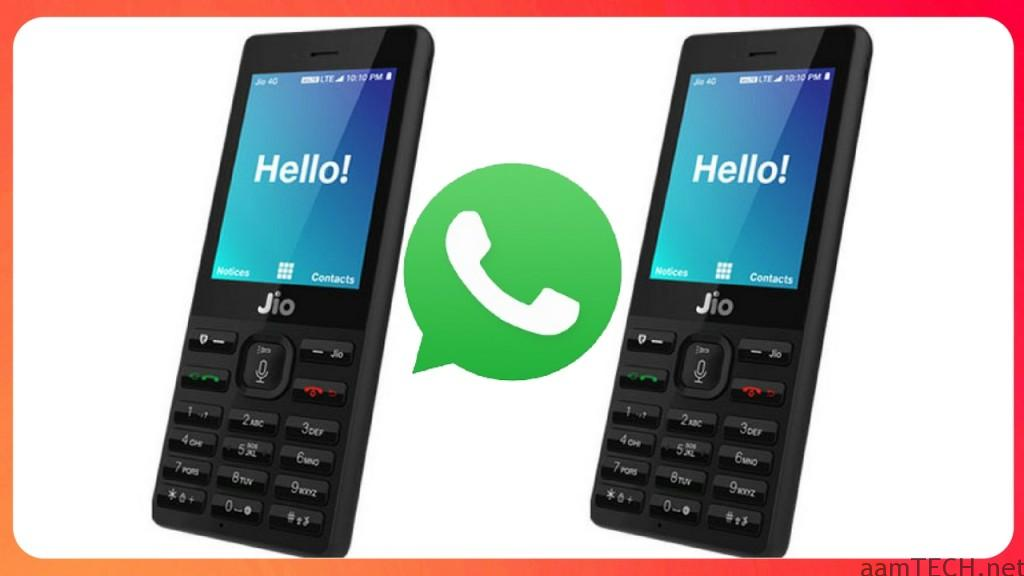WhatsApp Jio Phone