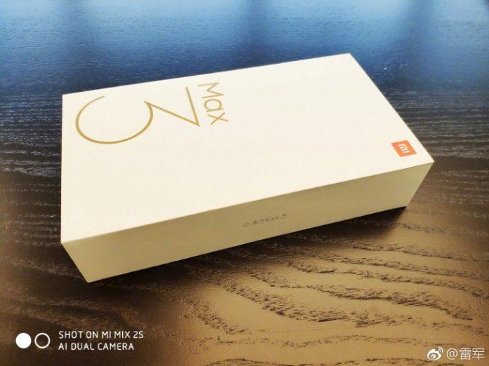 Mi Max 3 Retail Box