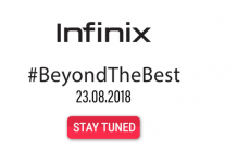 Infinix Launch Event Live Updates Banner