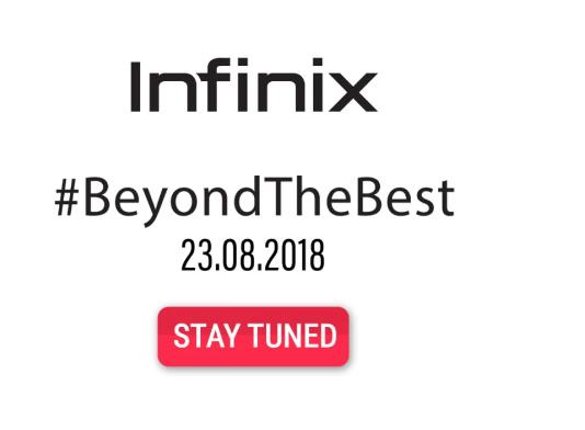Infinix Launch Event Live Updates Banner