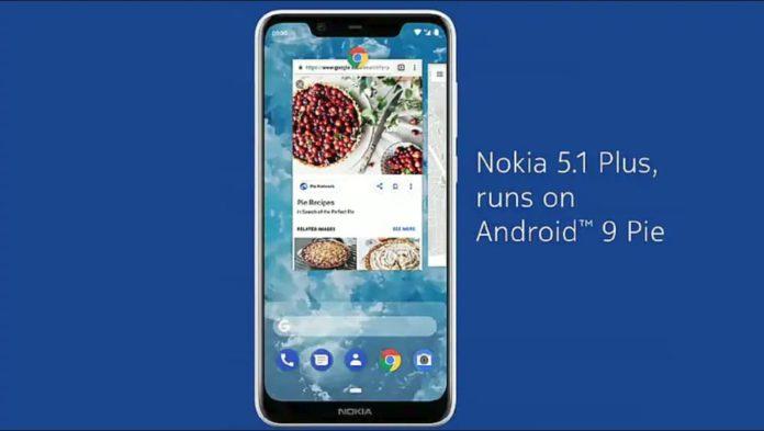 झूम उठेंगे नोकिया फैन, इस सस्ते फ़ोन को मिला एंड्राइड 9.0 अपडेट नोकिया 5.1 प्लस nokia 5.1 plus android 9 update