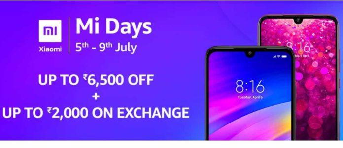 शुरू हुआ शाओमी का मी डेज सेल, जाने कितनी है छुट ! Xiaomi Mi Days Sale